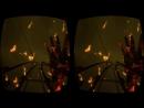 Virtual Reality. Legends Roller Coaster 3D VR SBS