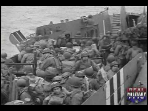 Graphic. Unedited D-Day Footage - June 6, 1944 (Part 1)