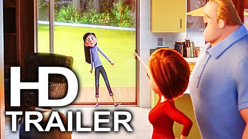 INCREDIBLES 2 Violet Sneaks Out Of House Trailer NEW (2018) Superhero Movie HD