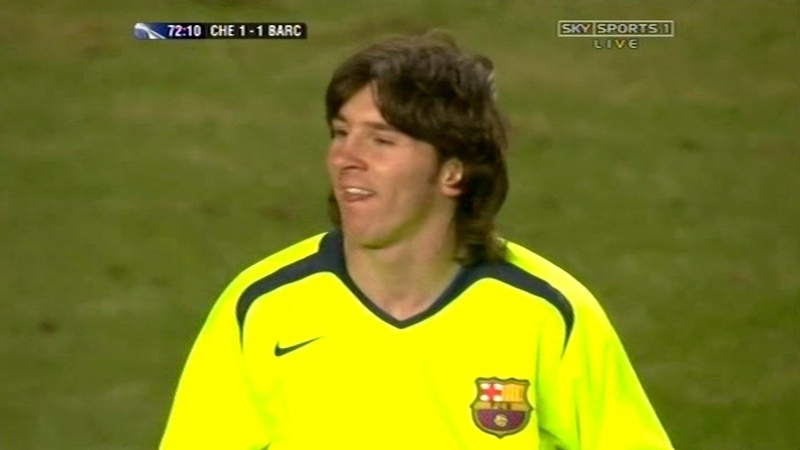 Lionel Messi vs Chelsea UCL Away 2005 06 English Commentary HD 720p