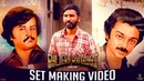 VADACHENNAI Set Making Dhanush Vetri Maaran Santhosh Narayanan Releasing on Oct 17th