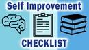 2018 Self Improvement Checklist - 7 Growth-Inspiring Ideas and Tactics