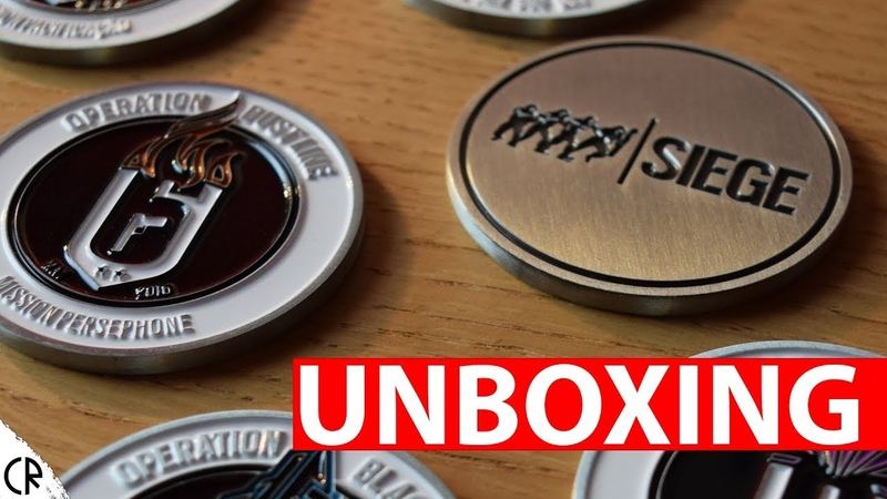 Unboxing Operation Coins - Tom Clancys Rainbow Six Siege