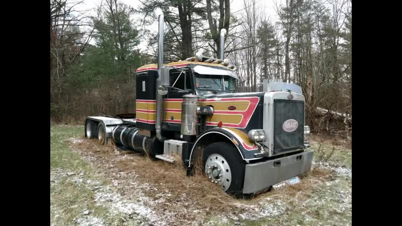 Rescuing a 1977 Peterbilt 359 From Its Grave - First Time On the Road in 18 Year