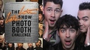 Three-Second Photo Booth Challenge w/ Jonas Brothers