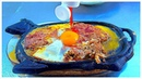American Street Food Breakfast - Beef Steak EGG meat with Bread, So Delicious in Vietnam