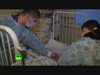 Сотрудники МЧС навестили Ваню Фокина, спасённого в Магнитогорске