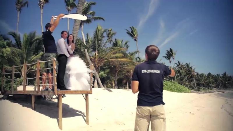 Рабочий процесс на пляже - как все происходит.