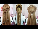 Easy Style for Long Hair - Easy Beautiful Hairstyles Tutorials 🌺 Best Hairstyles for Girls | Part 2