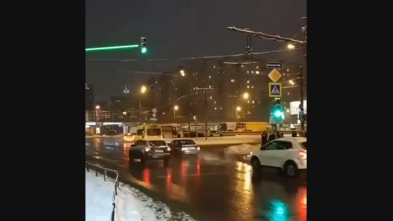 Новый светофор в Алтуфьево