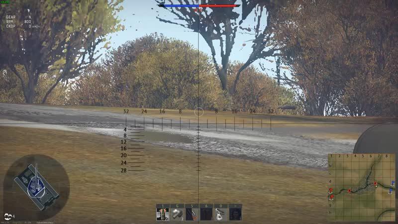 War Thunder Симуляторные бои.Отбил точку А