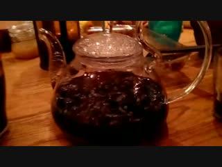 Пушкабаня. Дегустация тайского синего чая  Нам Док Анчан () от магазина И-Мне