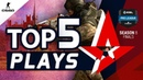 Top 5 Astralis Plays | ESL Pro League Season 8 Finals |