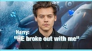 Harry Styles confirms that Two Ghosts is NOT about a woman. | Video