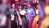 Daddy Yankee, Pitbull, Natti Natasha на съёмках клипа в Майами