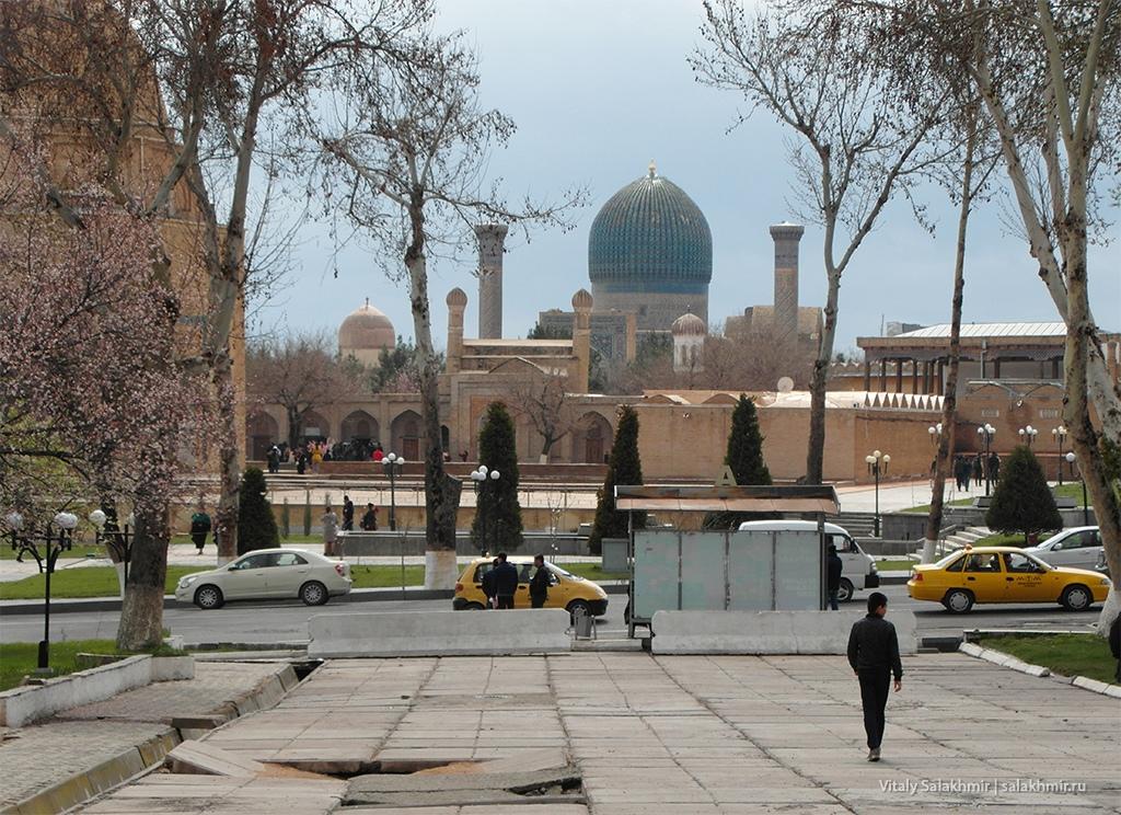 Мавзолей Гур-Эмир, Узбекистан, Самарканд 2019