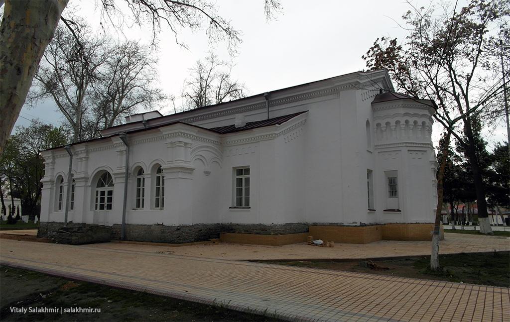 Старый дом около центрального парка, Самарканд 2019