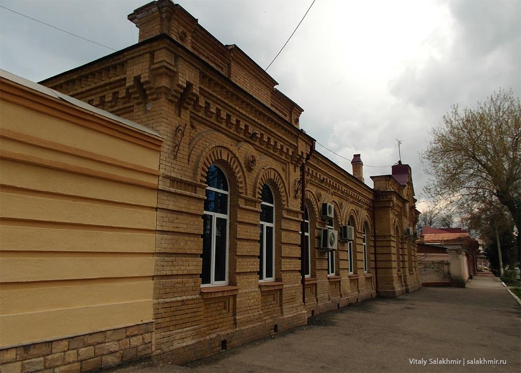 Здание после реставрации, Узбекистан, Самарканд 2019