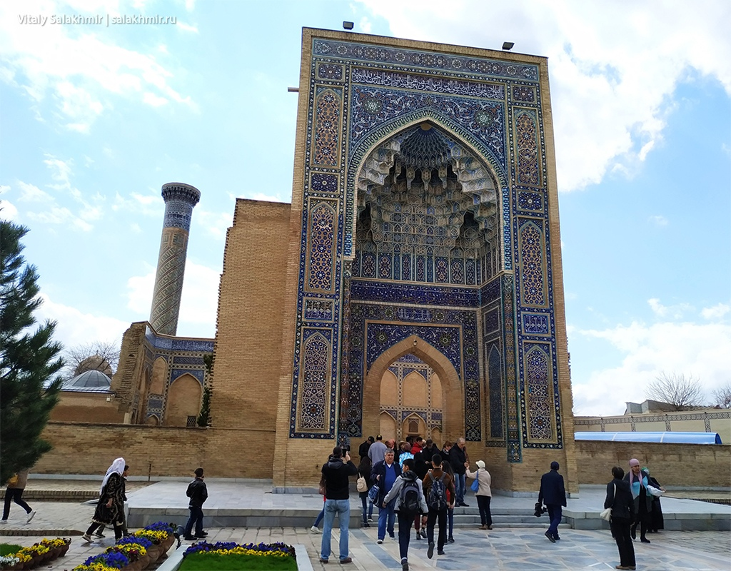 Мавзолей Амира Темура, Узбекистан, Самарканд 2019