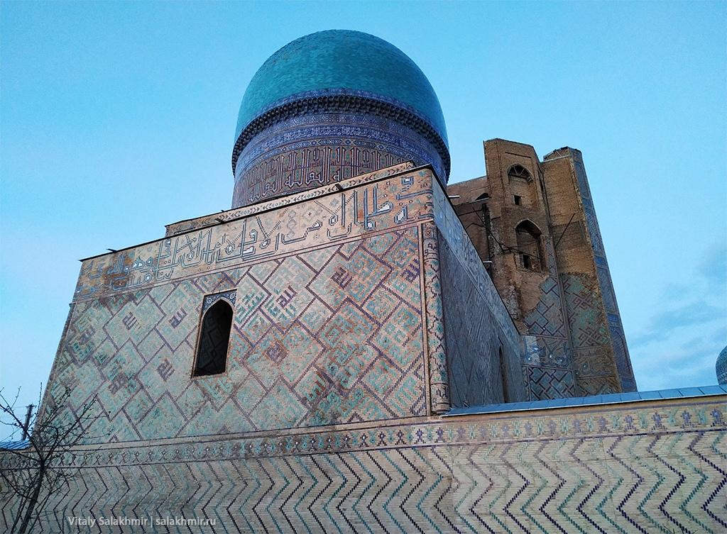 Мечеть Биби-Ханум с жилых районов, Самарканд 2019