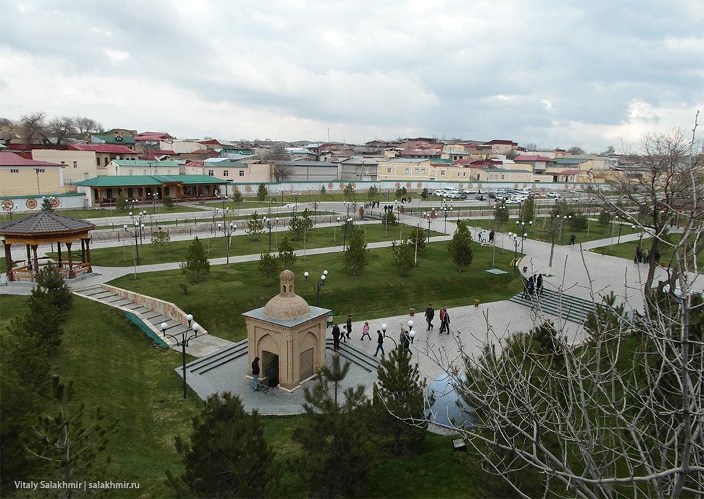 Панорама парка, Узбекистан, Самарканд 2019