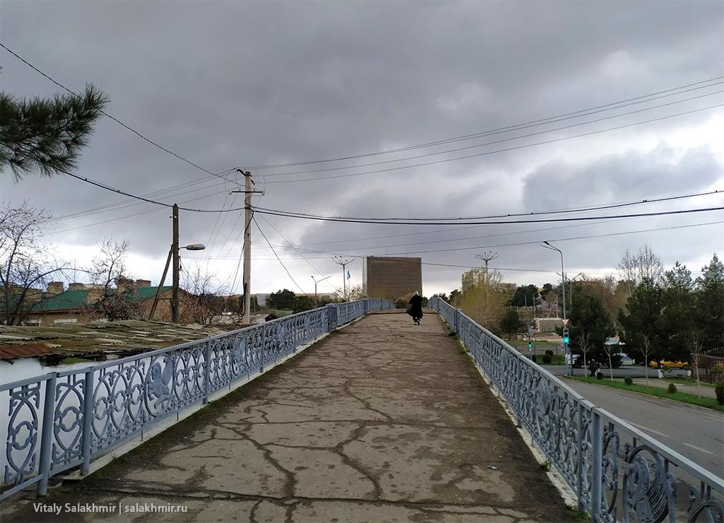 Пешеходный мост, Узбекистан, Самарканд 2019