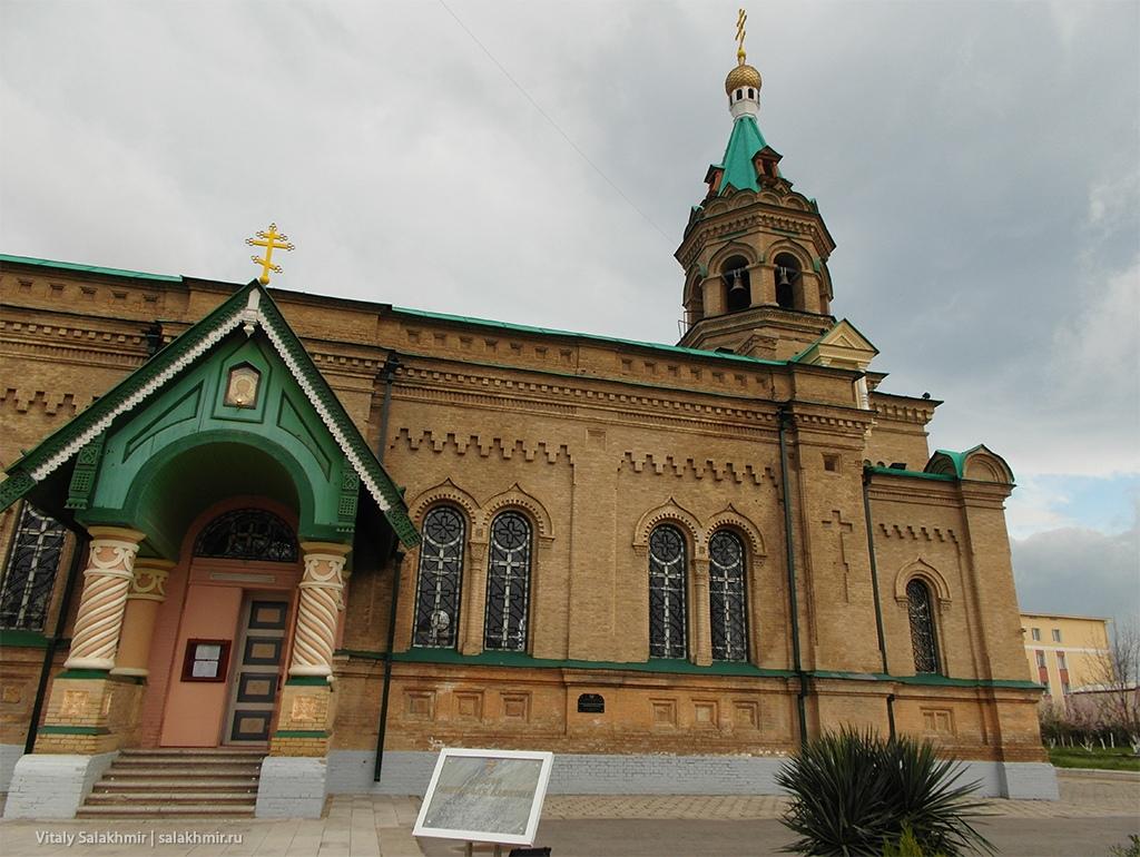Христианская церковь в Самарканде, Узбекистан 2019