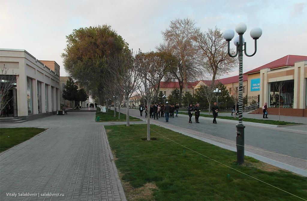 Улица Ислама Каримова, Узбекистан, Самарканд 2019