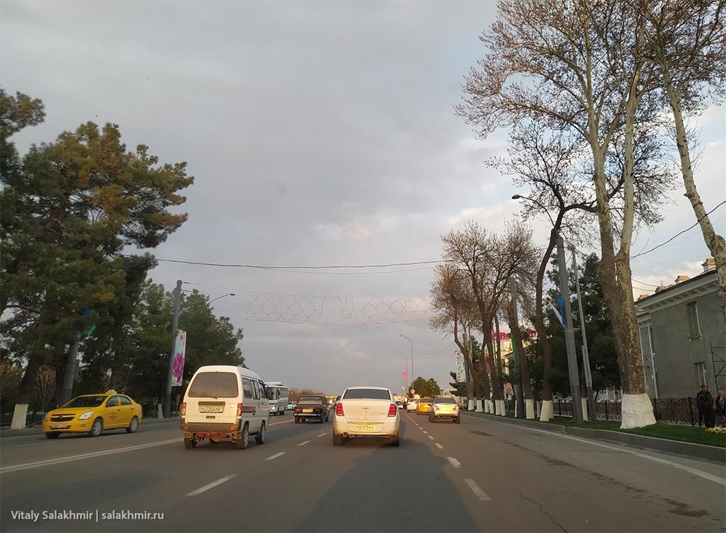 Улица Регистан, Узбекистан, Самарканд 2019