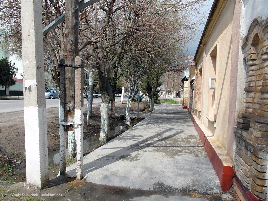 Улица Усмана Юсупова, Узбекистан, Самарканд 2019