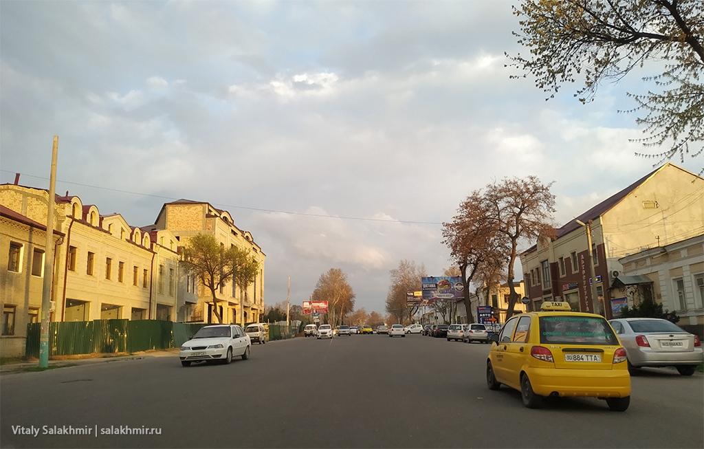 Обзор улицы Самарканда, Узбекистан 2019