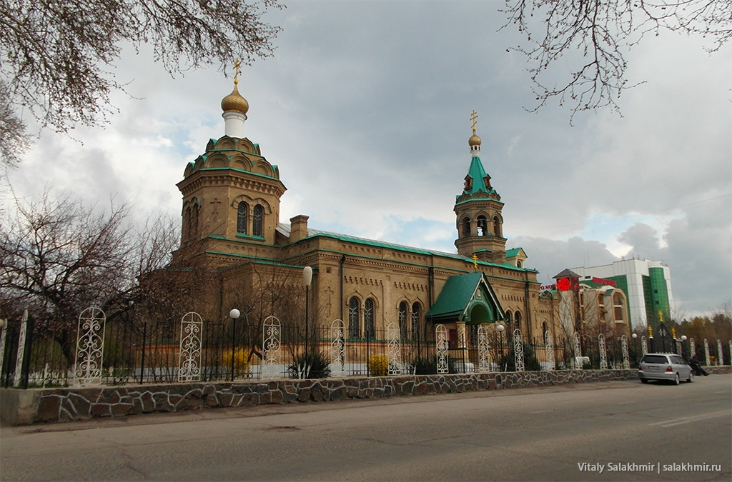 Христианский собор, Узбекистан, Самарканд 2019
