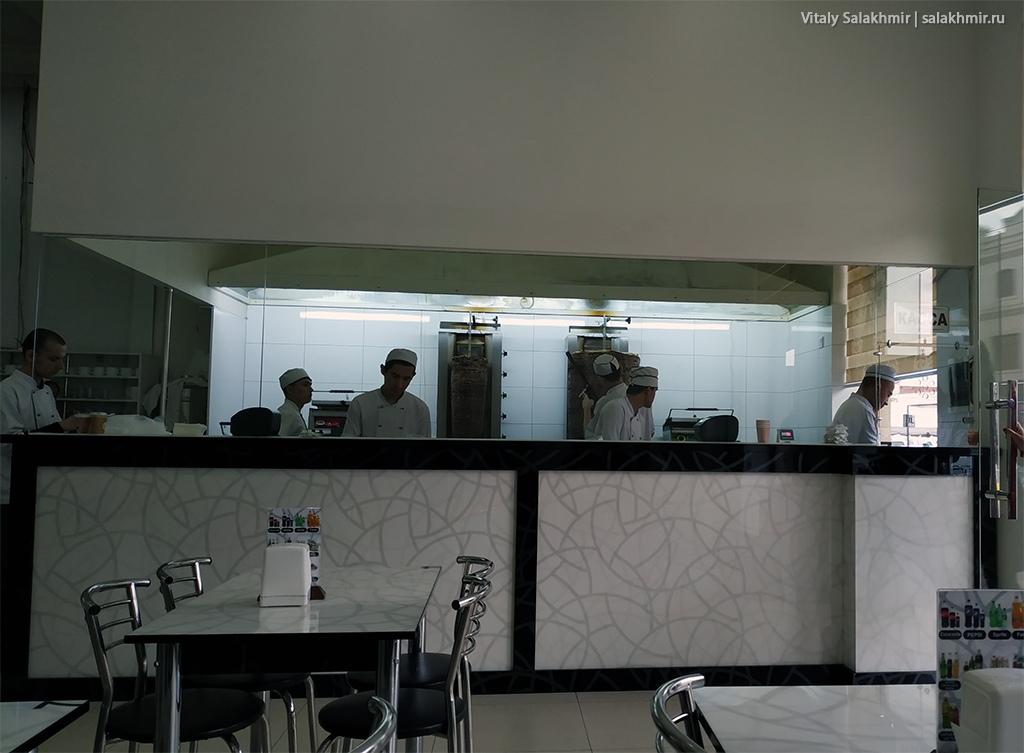 Шаурма, Самарканд, Узбекистан 2019