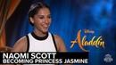 Naomi Scott: Becoming Princess Jasmine | 'Aladdin' Interview | Extra Butter