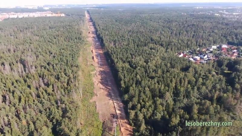 полёт до начала сроительства ЖК Лесобережный обзорный 21. 08.20
