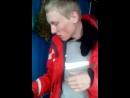 Андрюха осилил стакан водки
