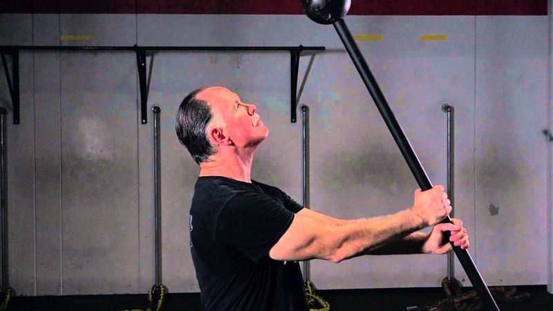 Rik Brown AKA Mr. Maceman - Unconventional strength training with the mace bell