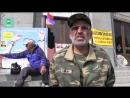 Ереванские пикетчики Мы надеемся что Пашинян придет и Россия продаст нам оружие
