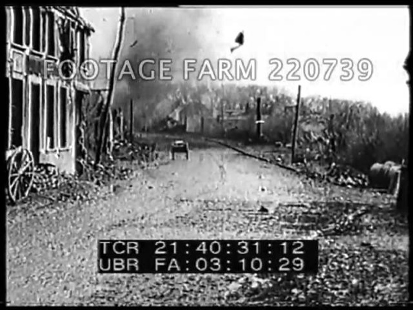 The Retreat of the Germans at the Battle of Arras 1918 Rl6/7 220739-03   Footage Farm