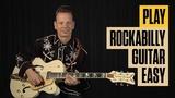 Play Rockabilly Guitar Easy Part 1 Rockabilly Guitar Lesson Guitar Tricks