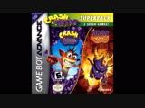 Level 14 Crash Bandicoot - Purple Riptos Rampage Spyro Orange - Soundtrack 3 - Artic cliffs area 2