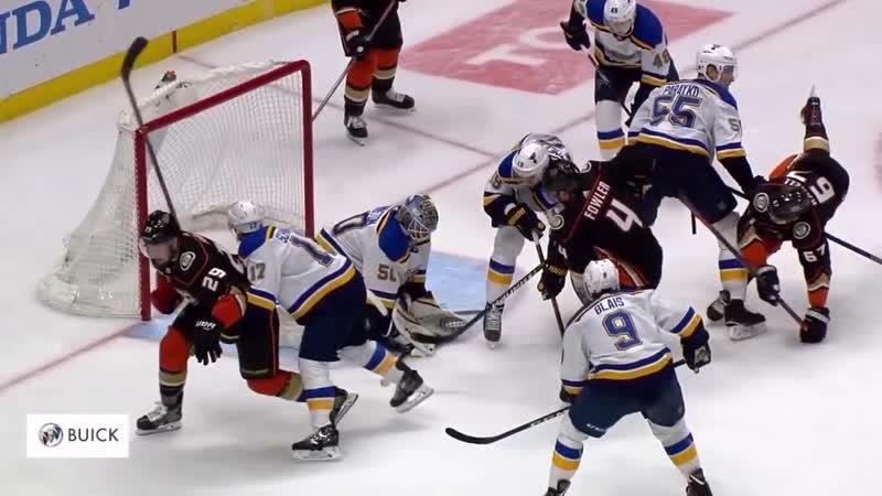 St. Louis Blues vs Anaheim Ducks - Jan 23, 2019 - Game Highlights - NHL 2018-19 - НХЛ