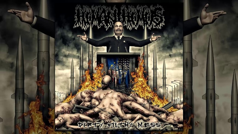 Human Humus Dirty Filthy Mess FULL ALBUM 2013 Grindcore
