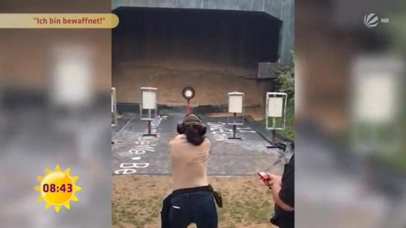 Diese Studentin verlässt nur noch mit geladener Waffe das Haus SAT 1 Frühstücksfernsehen
