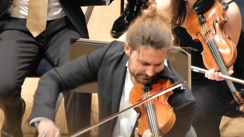 David Garrett 29.04.13 Festival Strings Lucerne letzter Satz Brahms Violinkonzert