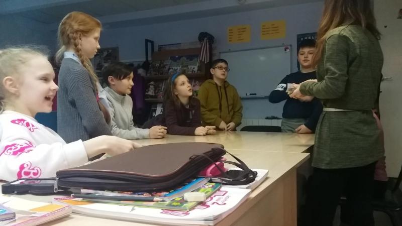 Учебно-развивающие игры на уроках английского языка.