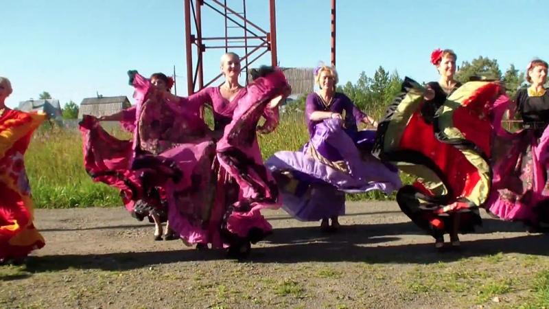 Танец цыганок в честь 30 летия в дачном кооперативе ФОНТАН