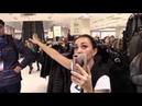 Буйный охранник магазина Снежная королева в ТЦ Коламбус Бросок через бедро