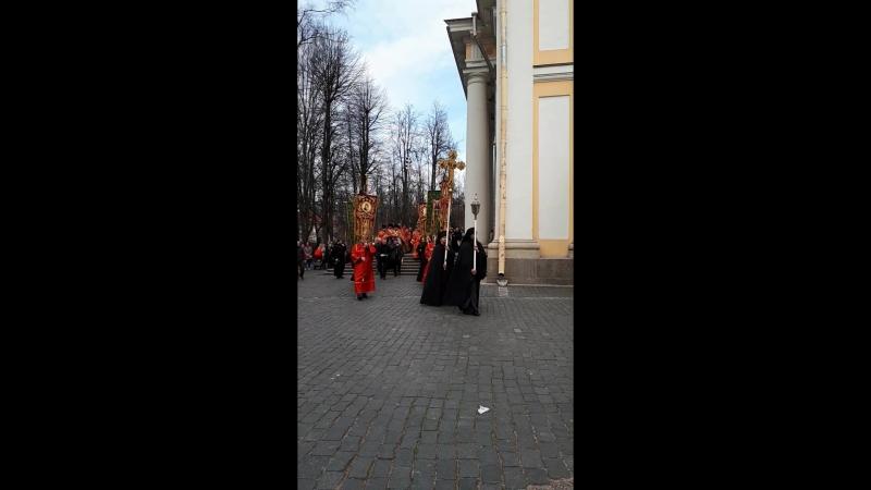 Христос Воскресе Александро - Невская Лавра. Крестный ход 29 апреля 2018 г.