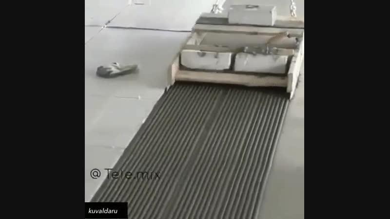 Один из способов нанести раствор для плитки быстро - Строим дом своими руками